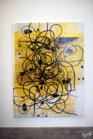 Stages - Christopher Wool Untitled, 2009 Silkscreen ink on linen, 244cm x (...)