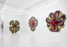 "Holton Rower ""Pour Paintings"" @ The Hole"