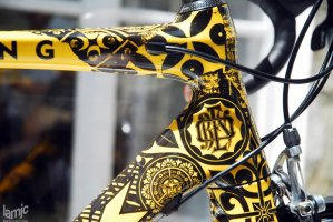 Stages - Shepard Fairey Customized Trek Madone Ridden by Lance Armstrong in (...)