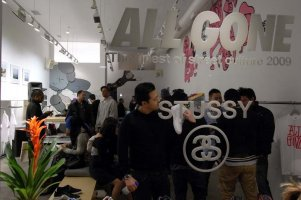 All Gone 2009 @ Stüssy Los Angeles